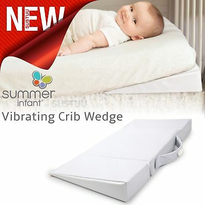 Summer Infant Vibrating Crib Wedge│Baby Kid Mattresses│Foldable│Auto Shut Off