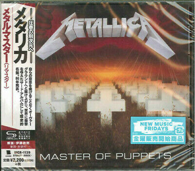 Master Of Puppets - Metallica (CD New) 4988031272619