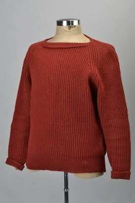 Well Weathered Hector Powe McRitchie Heavy Wool Pullover. Ref GEN