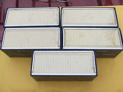 Lot of 5 Airequipt Slide Magazines Trays Each Holds 36 Slides 2x2 inch