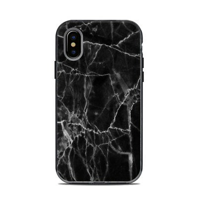 Skin for LifeProof NEXT iPhone X - Black Marble - Sticker Decal