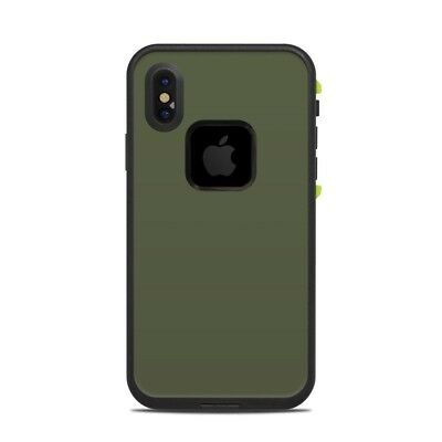 Skin for LifeProof FRE iPhone X - Solid Olive Drab - Sticker Decal