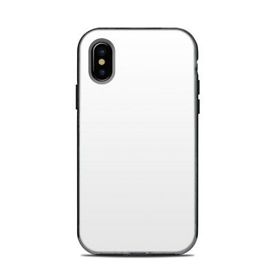 Skin for LifeProof NEXT iPhone X - Solid White - Sticker Decal