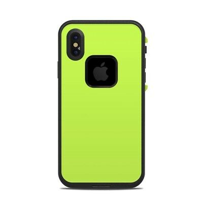 Skin for LifeProof FRE iPhone X - Solid Lime - Sticker Decal