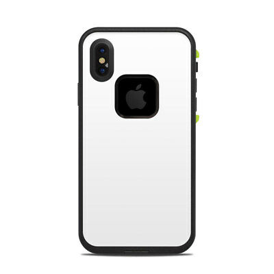Skin for LifeProof FRE iPhone X - Solid White - Sticker Decal