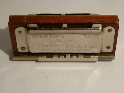 M.Hohner's Trutone Pitch Pipe,harmonica vintage,made in Germany.