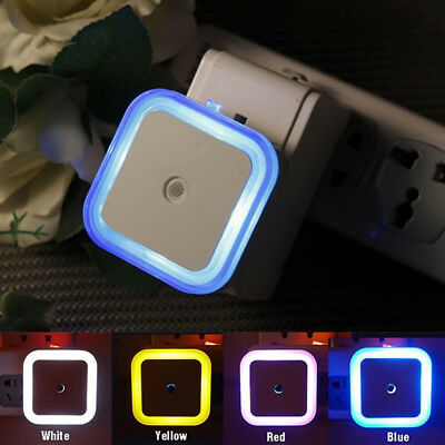Auto LED Light Induction Sensor Control Bedside Night Light In Wall Lamp