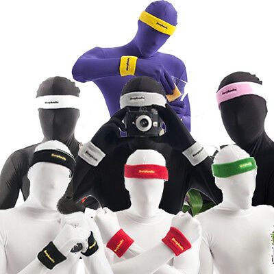Morphsuit Sweat Bands Headband  + 2 Wristbands Fancy Dress Costume by Morphsuits