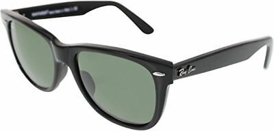 e4ec4e72ed NEW RAY-BAN ORIGINAL Wayfarer RB2140 901 50 Black   Green G-15 ...
