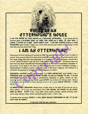Rules In An Otterhound's House