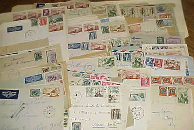 Algeria  103 Fronts Only Small Covers  After 1939 Mostly To Usa