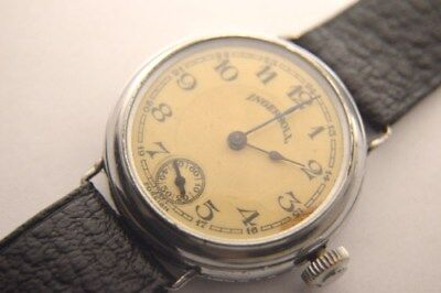 Ingersol, cool Trench watch, as is, as found, Celluloid dial ca. 1918