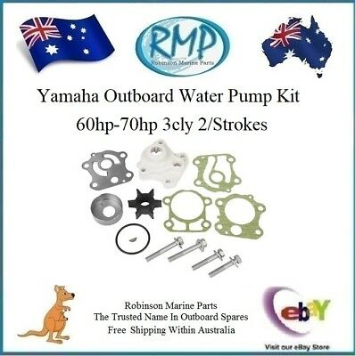 1 x Yamaha Outboard Water Pump Kit 60hp-70hp # R 6H3-W0078-00 + 6H3-44311-00