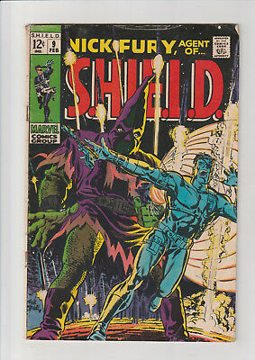 Nick Fury, Agent of SHIELD #9 (Feb 1969, Marvel) G