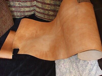 Large piece of leather, natural colour