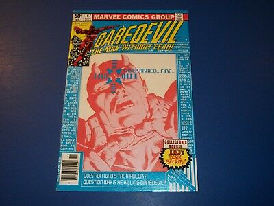 Daredevil #167 Bronze age Miller Art Great Cover FVF Beauty Wow