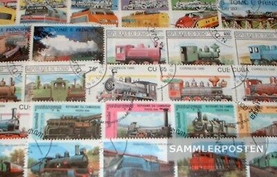 Motives 250 different Railway stamps