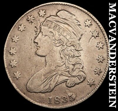 1835 Capped Bust Half Dollar - Very Fine+!!  Better Date!!  #h5415
