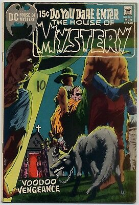 House of Mystery 193 FN/VF 7.0 Berni Wrightson cover, 15 cent issue 1971