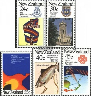 New Zealand 861-865 (complete issue) unmounted mint / never hinged 1983 Annivers