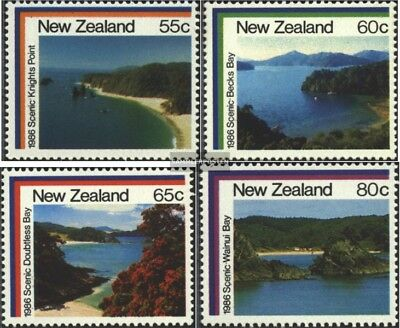 New Zealand 964-967 (complete issue) unmounted mint / never hinged 1986 Landscap