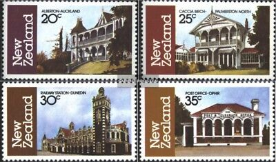 New Zealand 841-844 (complete issue) unmounted mint / never hinged 1982 Architec