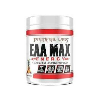 Primeval Labs EAA Max Energy Energised EAA BCAA 2 Flavours Available
