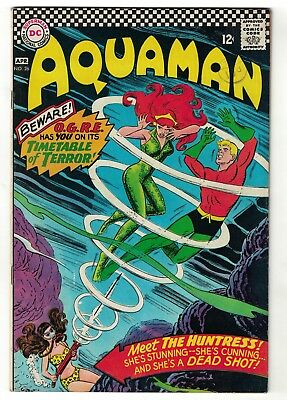 DC Comics AQUAMAN  No 26  SILVER AGE league  FN+ 6.5 nick cardy bob haney