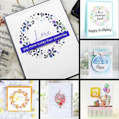 Metal Cutting Dies Stencils for Scrapbooking Album Decor Embossing Cutter Punch