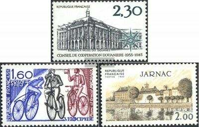France 2412,2413,2414 (complete issue) unmounted mint / never hinged 1983 specia