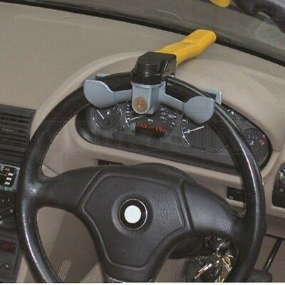 Streetwize Car Van Anti Theft Rotary Security Steering Wheel Lock Clamp Cover