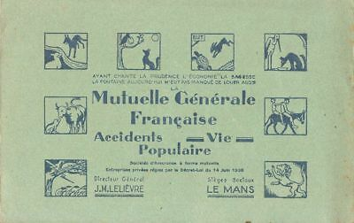 Buvard 109398 Mutuelle Generale Assurances-Jun