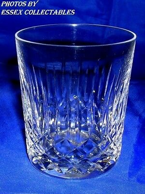 "EDINBURGH CRYSTAL APPIN PATTERN 3"" WHISKY TUMBLER GLASS VGC VINTAGE from 1955 +"