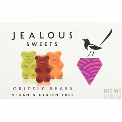 Jealous Sweets Grizzly Bears Jelly, 50 g, Pack of 3
