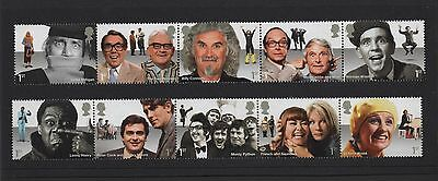 Gb 2015 Comedy Greats Stamp Set