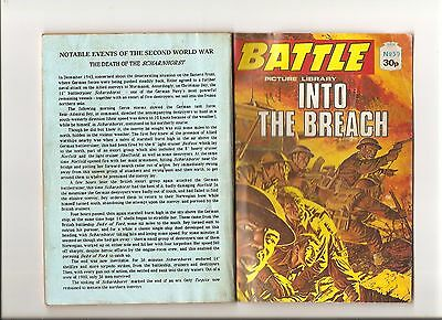 """BATTLE PICTURE LIBRARY No.50 """"INTO THE BREACH"""""""