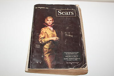 Vintage SEARS Fall and Winter Catalog 1963 Electronics Jewelry Clothes