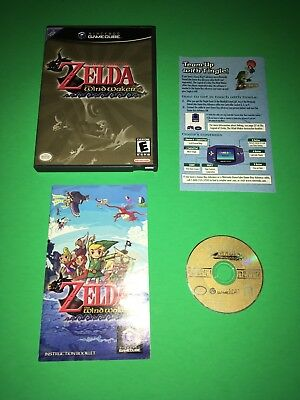 COMPLETE Legend of Zelda The Wind Waker Nintendo GameCube