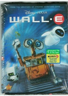 WALL-E New Sealed DVD Distressed Cardboard Packaging