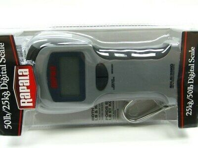 Rapala RGSDS-50 50 Lb. Pound Digital Fishing Fish Scale w/ Large Display + Hook