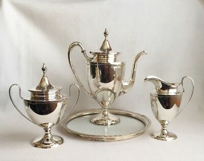 Shreve & Co. Sterling Silver Tea Coffee Set