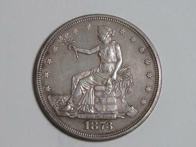 1873 Trade Dollar - 90% Silver US Coin