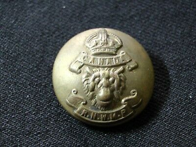 1907-1920 CANADIAN ROYAL NORTHWEST MOUNTED POLICE COAT BUTTON 24mm Buttons Ltd.