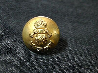1901-20 CANADIAN ROYAL NORTHWEST MOUNTED POLICE CAP/CHINSTRAP BUTTON 13mm blank
