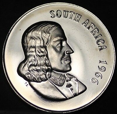 1966 SOUTH AFRICA CENT FREE SHIP South Africa Bin #B Low Mintage Proof