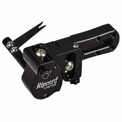 New Ripcord X-Factor Micro Adjust Target Archery Blade Arrow Rest RH Black