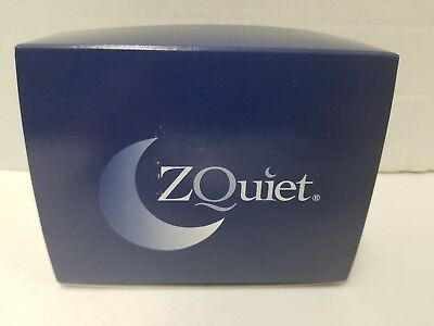 ZQuiet Anti Snore Mouthpiece 2 Step Complete System Authentic
