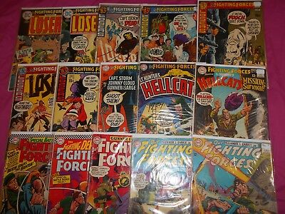 Our Fighting Forces Lot(15) Ave Fn- 1963-1975