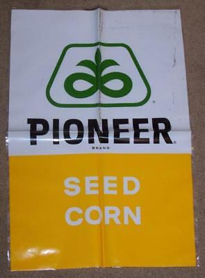 Vintage Pioneer Seed Corn Plastic Bag Advertising