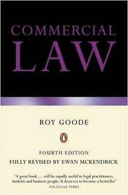 Goode on Commercial Law: Fourth Edition,Ewan McKendrick, Roy Goode